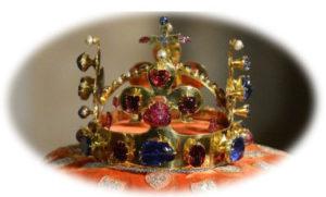Le rubis Prince Noir de la couronne d'Angleterre