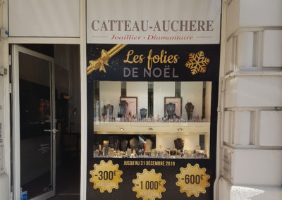Les folies de Noël - Joaillerie Catteau-Auchère - Vichy